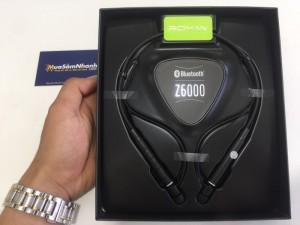 Điểm mạnh của Tai nghe Bluetooth Roman Z6000 chính hãng là tính năng chế độ rung thông báo cuộc gọi đến nhờ đó mà bạn có thể biết có cuộc gọi và không cần phải nhét tai nghe thường xuyên, đối với những bạn cảm giác khó chịu hay đau tai thì đây là tiện ích vô cùng hữu ích và thú vị.