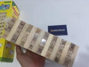 Bộ đồ chơi rút gỗ sẽ giúp trẻ rèn luyện tính cẩn thận,khéo léo,kiên nhẫn và khả năng phán đoán.