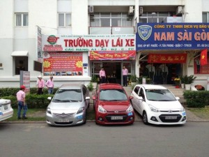 Đào tạo bằng lái xe số sàn và số tự động tại Hồ Chí Minh