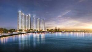 Chỉ 810tr nhận CH cao cấp Vinhomes Sky Lake Phạm Hùng siêu phẩm ven hồ.