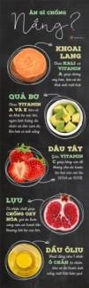 thực phẩm giúp tăng cường khả năng chống nắng