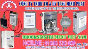 GF125 Series Metal Sealed Thermal Mass Flow Controllers & Meters -Brooks Instrument Vietnam