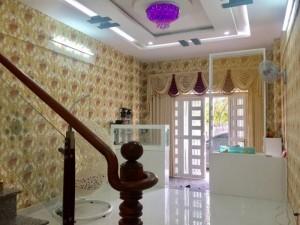 Bán nhà phố đẹp, Huỳnh Tấn Phát, Nhà Bè,DT4x13m,3 tầng.Giá 2,6 tỷ