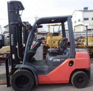 Kiểm tra bảo dưỡng xe nâng khu vực tại Quận Thủ Đức