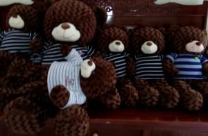 Gấu teddy 1 m, 1m6 lông xoan mềm mịn