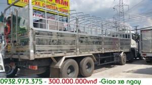 Mua bán xe dongfeng 4 chân/4 giò 18 tấn trả góp giá rẻ nhất miền nam