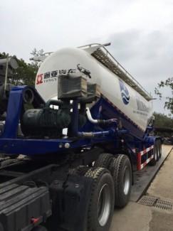 Xitec chở xi măng rời Tongyada 31 tấn. Công nghệ sản xuất mới năm 2017