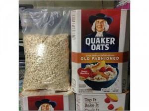 Yến mạch mỹ Quaker Oats 1kg (xé bịch lớn) Quick và Old