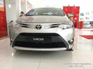 Mua Xe Toyota Vios 2017 Số Tự Động Trả Góp...