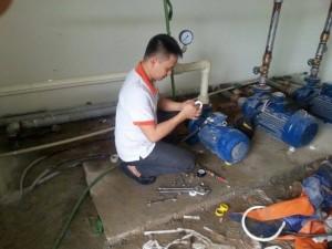 Sửa máy bơm nước dân dụng