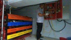 Sửa máy bơm nước phòng cháy chữa cháy