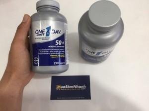 One A Day Men's 50+ Healthy Advantage sự lựa chọn hoàn hảo cho nam giới tuổi 50+. Cho bạn một sức khỏe tốt, năng cao chất lượng cuộc sống.