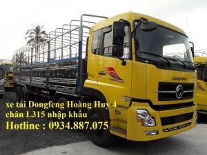 Bán xe tải Dongfeng Hoàng Huy 4 chân 17.9...