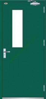 Cửa thép chống cháy, cửa thoát hiểm, cửa exit cho chung cư, nhà xưởng, KS