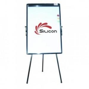 Bảng Flipchart Silicon FB33 (70x100) - Kích thước bề mặt Bảng: W70xH100cm (W: Chiều dài, ngang; H: Chiều cao) - Tổng chiều cao cả chân Bảng: 190cm (Độ cao có thể điều chỉnh tùy ý) - Tiêu chuẩn ISO - Bảng Flipchart Silicon 3 chân ( chân rút )