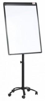 Bảng Flipchart giá rẻ, Bảng kẹp giấy, Bảng Flipchart silicon FB55 chân bánh xe