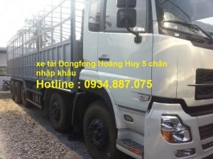 Xe tải Dongfeng hoàng huy 5 chân / 5 giò 21.5...