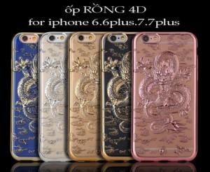 Ốp lưng rồng vàng 4d dành cho iphone 6_6plus_7_7plus