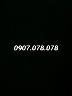 Bán sim 0907.078.078 chính chủ thuê bao, sang tên tại Mobilfone