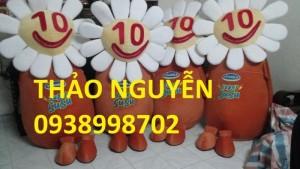 May mascot giá rẻ, mascot pikachu, mascot que kem  CGV giá rẻ