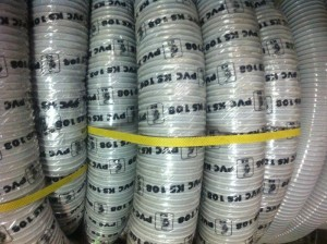 Ống Gân nhựa Hút Bụi, Khí nóng, thông gió Hàng có sẵn số lượng lớn
