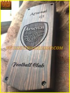 Vỏ Gỗ Điện Thoại CLB Arsenal
