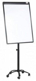 Bảng Flipchart Silicon chân di động cao cấp FB 55 - Bảng viết di động dùng để thuyết trình, hội họp, hội nghị, giảng dạy và đào tạo, di chuyển thuận tiện, có thể dùng bút dạ để viết trực tiếp lên mặt bảng hoặc lên giấy dùng 1 lần. - Chân di động, có thể điều chỉnh độ cao của bảng và có chốt, dễ dàng di chuyển,  - Có thể điều chỉnh độ nghiêng của bảng để tạo góc nhìn thoải mái cho người thuyết trình và người xem. - Thanh kẹp được thiết kế độc đáo, Dễ dàng tháo lắp và giữ giấy chắc khi viết - Bảng khung thép sơn tĩnh điện, có từ tính để gắn nam châm - Kích thước: 70 x 100cm - Xuất xứ: Công Nghệ Mỹ SX tại Trung Quốc * Bảo hành 12 tháng