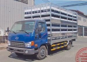 Bán Xe tải Hyundai Mighty HD72 chở gia cầm 3...