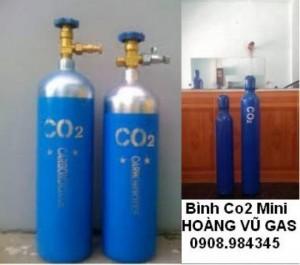 Bán bình CO2 mini 2kg - 3kg - 5kg