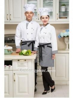 Đồng phục nhà bếp thiết kế đẹp, giá rẻ