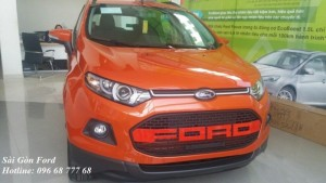 Mua Ford Ecosport Trend MT 2017 trả góp