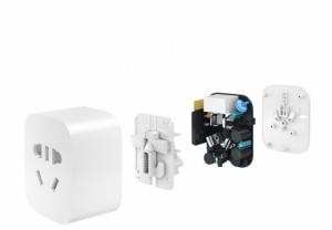 Ổ Điện Thông Minh Xiaomi, Tự Ngắt Khi Nhiệt Độ Cao, Điều Khiển Từ Xa, Wifi Mi Smart Socket, Xiaomi Chính Hãng - MSN181134