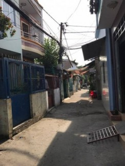Nhà bán hẻm 240 Lưu Hữu Phước Phường 15 Quận 8, diện tích 3,2m nở hậu 3.6m x 8m,