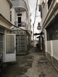Nhà bán hẽm 2 m Bình Đông phương 15, quận 8 ( Ngay chân cầu số 2)