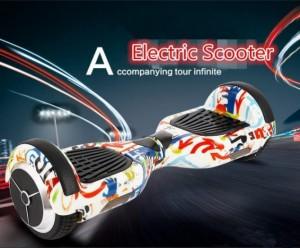 Xe điện cân bằng 6.5inch Grafiti