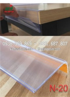 nẹp nhựa siêu thị, nẹp kệ siêu thị, nẹp nhựa ghi bảng tên siêu thị, sản xuất nẹp nhựa siêu thị
