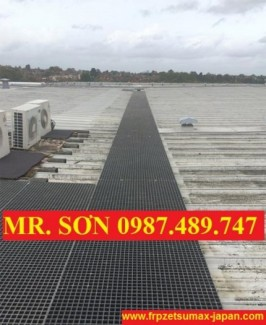 sàn lót trên mái nhà