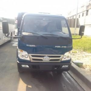 Bán xe ben thaco FLD420, ben 4 tấn 2 thùng 3 khối