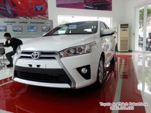 Khuyến Mãi Mua Trả Góp Toyota Yaris 1.5G 2017...