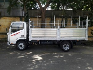 Xe tải jac 3T5 đầu vuông máy cn isuzu, có máy lạnh, đời 2016, vay NH cao