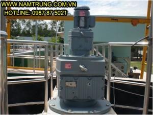 Động cơ giảm tốc SEW dùng cho hệ thống xử lý nước thải KCN Mỹ Phước