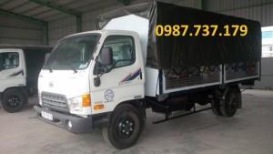 Xe tải Hyundai HD800, nâng tải từ 3,5 tấn lên 8 tấn, hàng nhập CKD