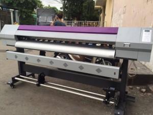 Máy in phun Taimes A180 | Giá: 140.000.000 | Mô tả: Model: Taimes A180. Đầu phun: Epson đời thứ 5. Khổ in: 1800mm. Tốc độ in phác thảo: 18m2/h. Tốc độ in sản xuất: 15m2/h,. Tốc độ chất lượng: 10m2/h. Loại vật liệu : Glossy giấy ảnh, PP giấy, keo dán, backlit film, vải, vv. Các loại mực in: mực nước , mực dung môi, thuốc nhuộm-thăng hoa mực. Phần mềm RIP: Main Top 5.3. Độ cao đầu phun: 1-3mm. Hệ thống vòi phun làm sạch: Tự động làm sạch hệ thống, hệ thống tự động độ ẩm. Sấy sơ bộ, hệ thống sấy: Điều chỉnh làm khô. Dữ liệu giao diện: USB 2.0. Nguồn điện, điện áp: AC 100~220V.50HZ/60HZ. Kích thước máy: L2830x W740 x H 1280mm. Kích thước bao bì: L3020x W740 x H 970 mm.