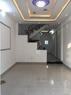 Bán nhà 1 lầu Sổ Hồng Riêng, DT 110m2, giá 1.95 Tỷ, Kp6, đường Huỳnh Tấn Phát Thị Trấn Nhà Bè