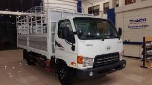 Xe tải HYUNDAI THACO 5 tấn HD500, 6,5 tấn HD650 sản phẩm mới... hot