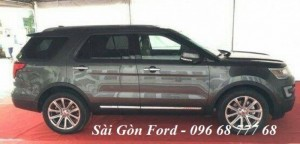 Ford Explorer giá rẻ tại Bình Phước, cho vay lãi suất thấp, tặng full phụ kiện