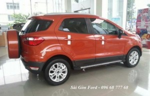 Ford Ecosport Trend MT giá rẻ tại Bình Phước, Vay lãi suất thấp, giao xe nhanh, tặng full phụ kiện