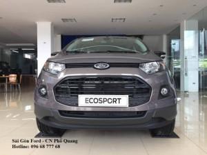 Ford Ecosport giá rẻ tại Tây Ninh, Vay lãi suất thấp, Tặng Full phụ kiện theo xe