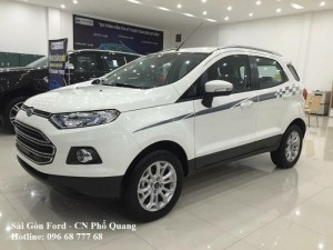 Ford Ecosport giá rẻ tại Vĩnh Long, Vay lãi suất thấp, giao xe nhanh