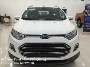 Ford Ecosport Trend MT giá rẻ tại Vĩnh Long, Vay lãi suất thấp, giao xe nhanh